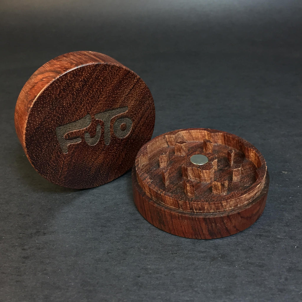 Futo Bubinga Grinder - Exotic Wood - CNC Machined - Made in Canada