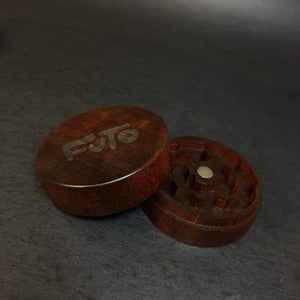 Futo Sapele Grinder - Exotic Wood - CNC Machined - Made in Canada
