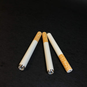 Classic Cigarette 3pk - Aluminum - 8mm One Hitter