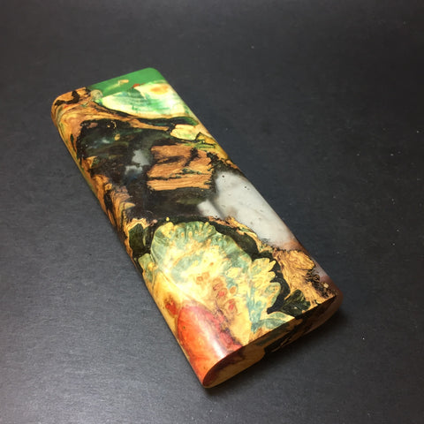 Galaxy Burl XL FutoStash #1282 - Stabilized Boxelder Burl - DynaVap Stash