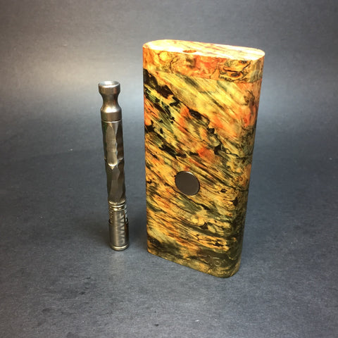 Galaxy Burl FutoStash #1291 - Stabilized Burl - DynaVap Stash