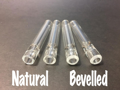 Smokey Grey - 12mm Glass One Hitters - Borosilicate Glass