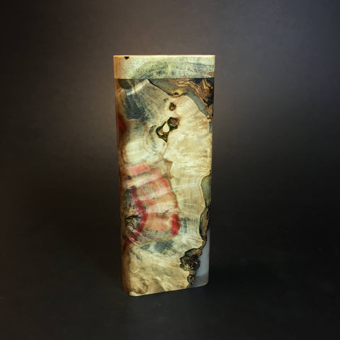 Galaxy Burl XL FutoStash #1334 - Stabilized Burl & Resin - DynaVap Stash