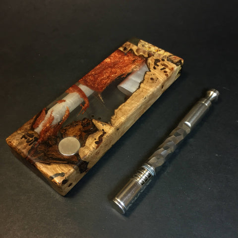 Resin River SXL FutoStash #1351 - Burl & Resin - DynaVap Stash