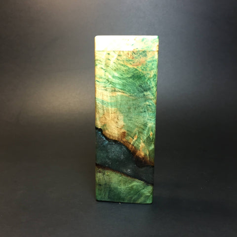 Galaxy Burl FutoStash SXL #1398 - Stabilized Boxelder Burl - DynaVap Stash