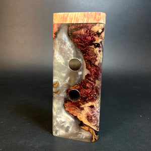 Galaxy Burl XL G2 FutoStash #1556 - Stabilized Burl & Resin - DynaVap Stash