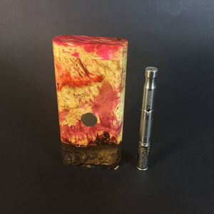 Galaxy Burl FutoStash R #2021 - Stabilized Burl & Resin - DynaVap Stash