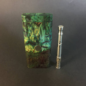 Galaxy Burl FutoStash R #2022 - Stabilized Burl & Resin - DynaVap Stash