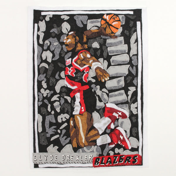 Original Applique Clyde Drexler I