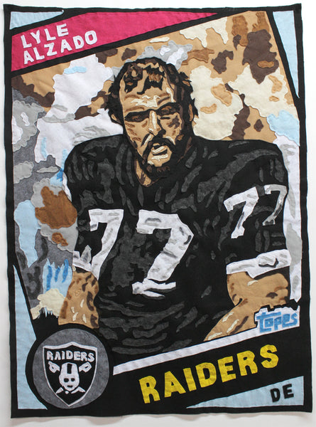 Original Applique Lyle Alzado