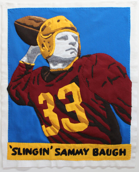 Original Applique Slinging Sammy Baugh