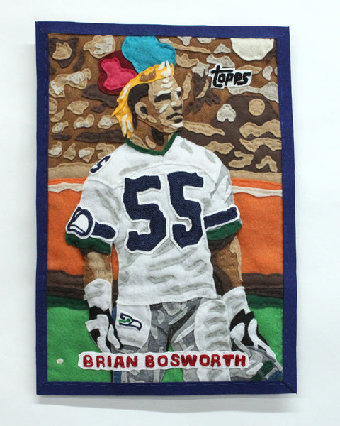 "Original Applique Brian ""The Boz"" Bosworth"