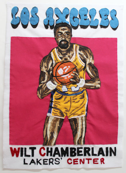 Original Applique Wilt Chamberlain
