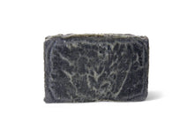 Load image into Gallery viewer, Soothing lavender and sweet orange essential oils blended with powerful activated charcoal make this bar amazing for the body and face. Helps to prevent mild acne, and can help prevent breakouts.