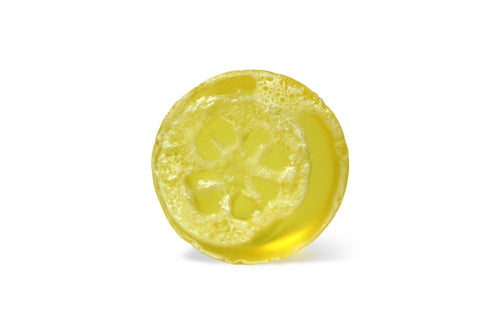 Lemon Zinger Loofah Soap