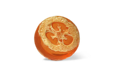 Mandarin Orange Loofah Soap