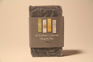Activated Charcoal Beauty Bar