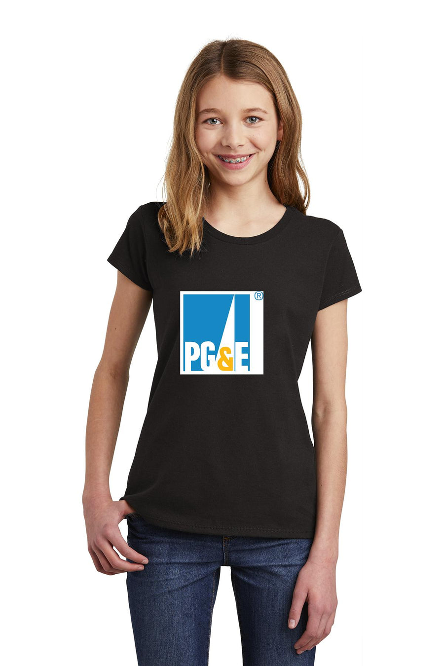 Jeds store-Youth District Girls Tee
