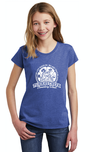 Tijeras Creek Elementary School-Youth District Girls Tee