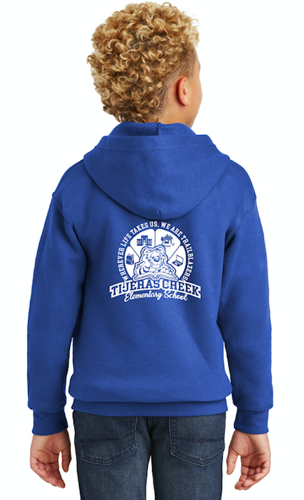 Tijeras Creek Elementary School-Unisex Zip-Up