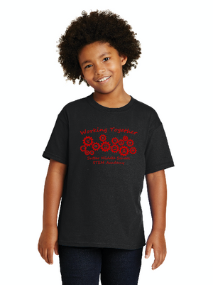 Sutter Middle School STEM Academy-Unisex T-Shirt