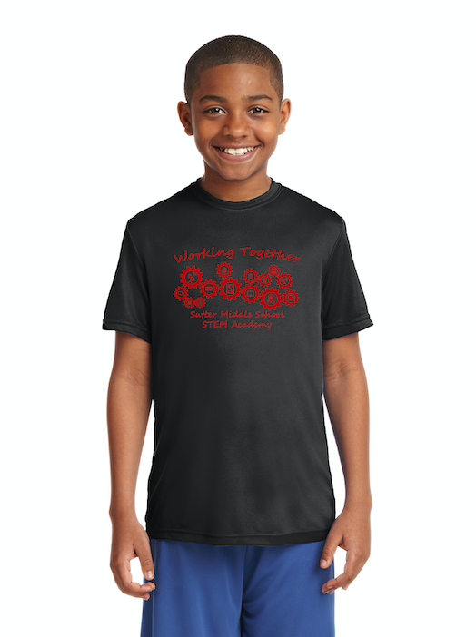Sutter Middle School STEM Academy-Unisex Dry-Fit Shirt