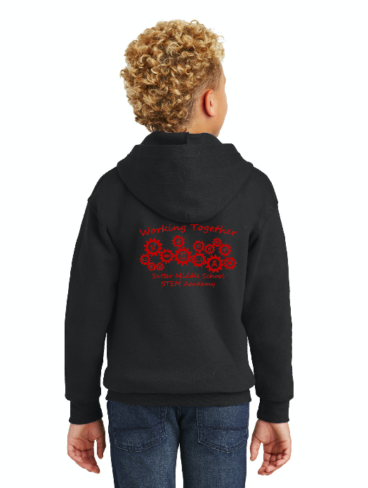 Sutter Middle School STEM Academy-Unisex Zip-Up