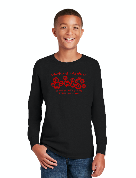 Sutter Middle School STEM Academy-Unisex Long Sleeve Shirt
