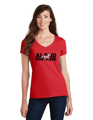Alamo Elementary-Ladies V-Neck