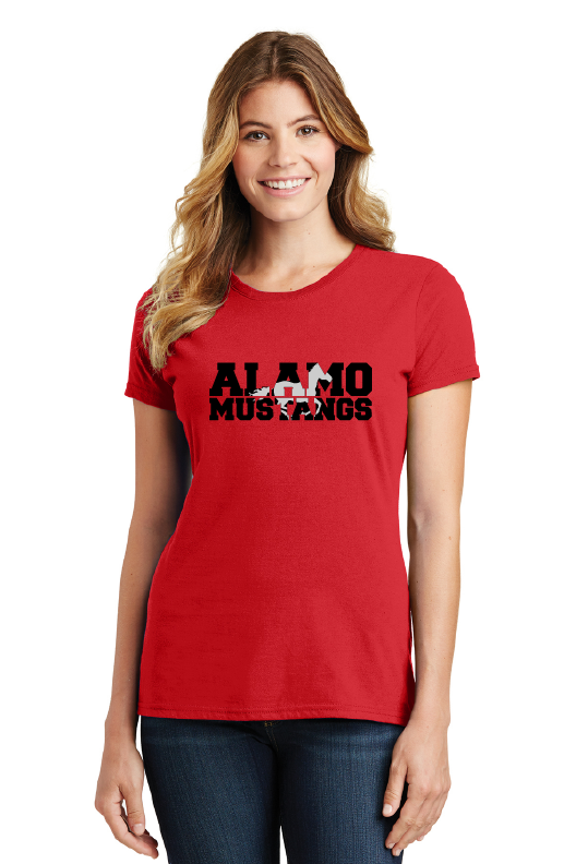 Alamo Elementary-Ladies Favorite Shirt
