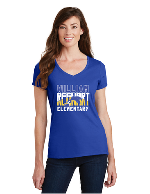 Regnart Roadrunners Spiritwear Store-Ladies V-Neck