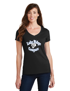 Lake Ridge Elementary-Ladies V-Neck