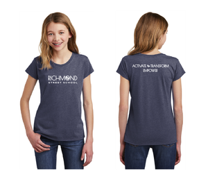 Richmond Street Elementary-Youth District Girls Tee