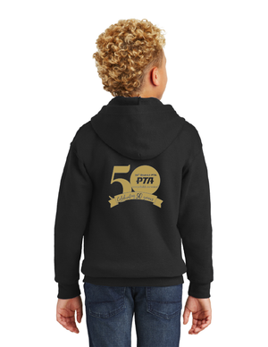 34th District PTA -50th Anniversary-Unisex Zip-Up