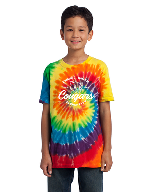 Emma C. Smith Elementary School-Unisex Tie-Dye T-Shirt