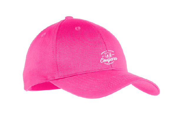 Emma C. Smith Elementary School-Six-Panel Twill Cap