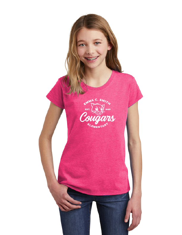 Emma C. Smith Elementary School-Youth District Girls Tee