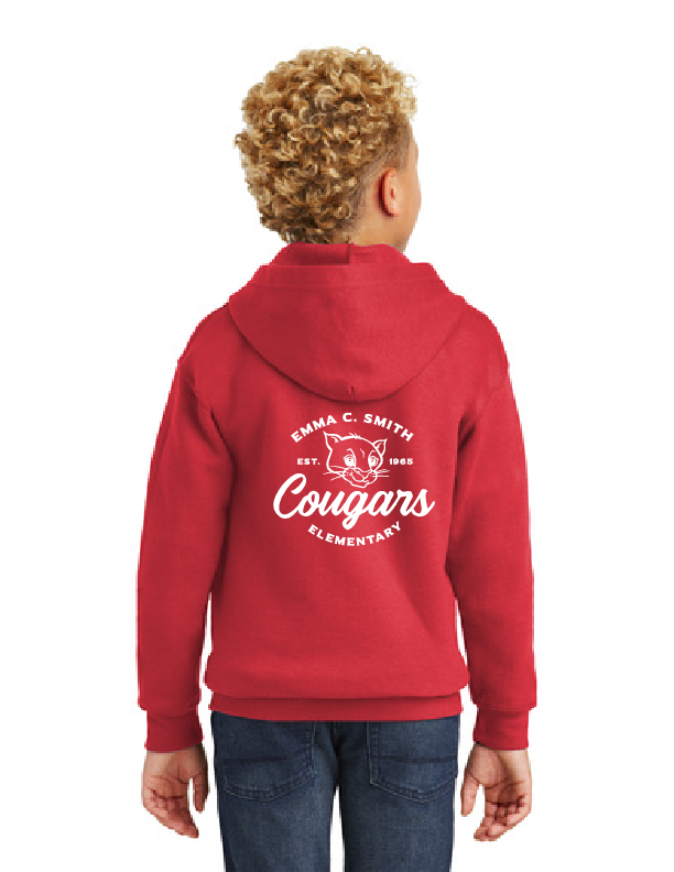 Emma C. Smith Elementary School-Unisex Zip-Up