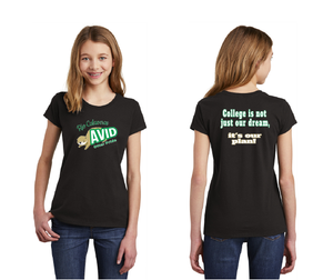 Rio Calaveras Spirit Wear-Youth District Girls Tee