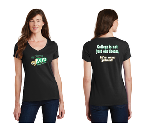 Rio Calaveras Spirit Wear-Ladies V-Neck