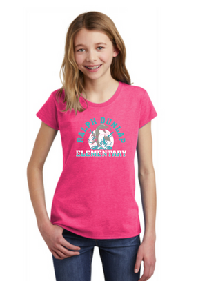 Ralph Dunlap Elementary-Youth District Girls Tee
