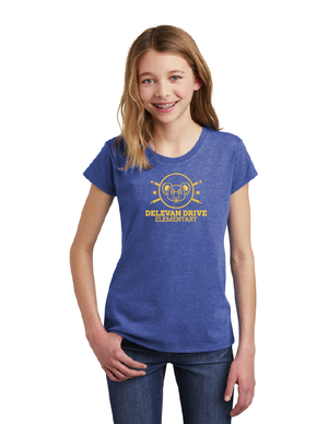 Delevan Drive Elementary-Youth District Girls Tee