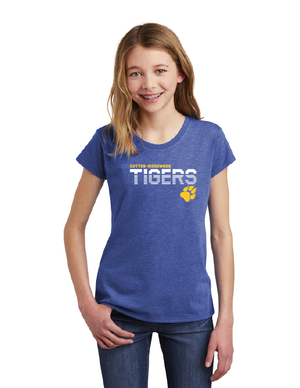 Cutten Ridgewood Elementary School-Youth District Girls Tee