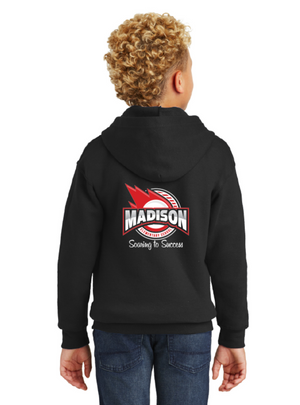Madison Spirit Wear Flash Sale-Unisex Zip-Up