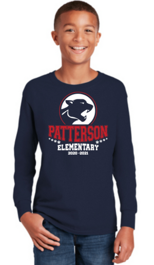 Patterson Elementary School-Unisex Long Sleeve Shirt