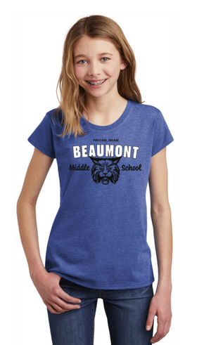 Welcome Back to Beaumont!-Youth District Girls Tee
