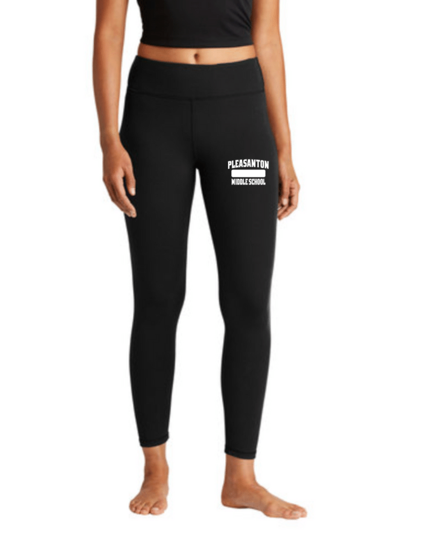 Pleasanton Middle School Physical Education Sport-Tek® Ladies 7/8 Legging