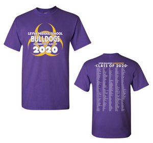 LeyVa Middle School Unisex Class of 2020 Shirt