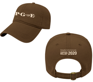PG&E Nostalgic Limited Edition COVID-19 Hat - Brown