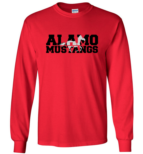 Alamo Elementary Long Sleeve Shirt